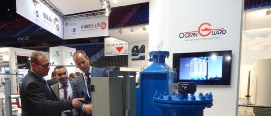 海洋卫士压载水处理系统再次亮相荷兰Europort海事展