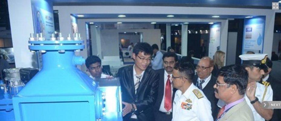 海易胜博官方网站携海洋卫士魅力绽放印度海事展INMEX INDIA 2013