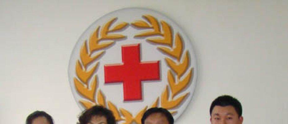 青岛海德威吹响集结号为灾区捐赠