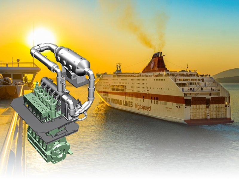 船用柴油机尾气脱硝系统 (SCR)