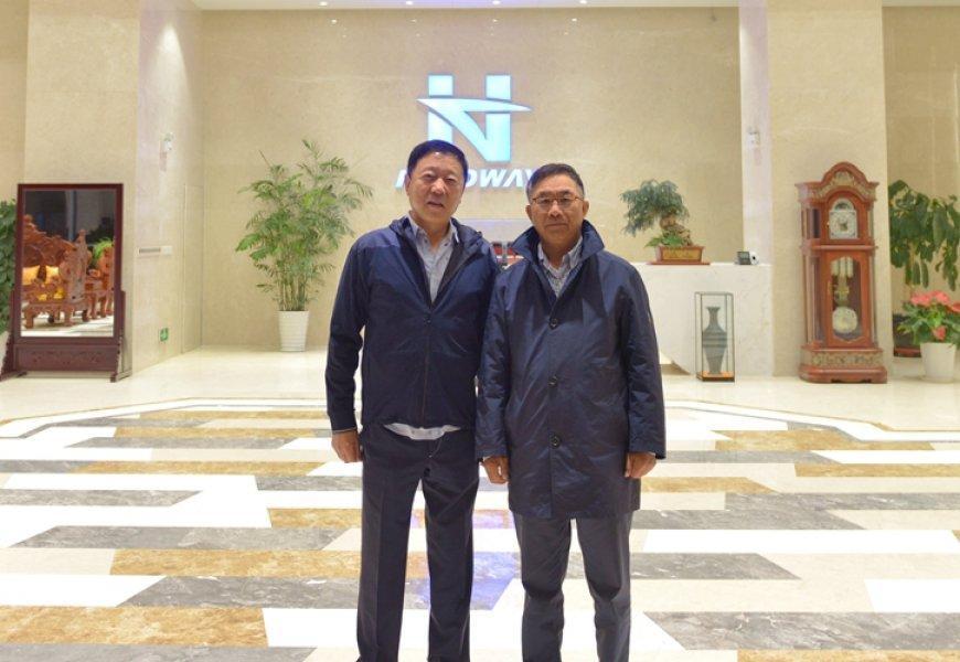 海丰国际控股有限公司董事局主席杨绍鹏一行来访亚搏体育官方app