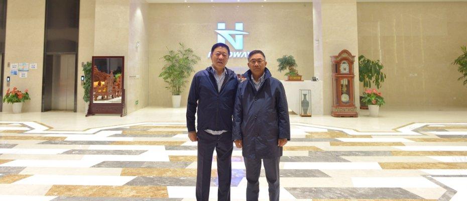 海丰国际控股有限公司董事局主席杨绍鹏一行来访海德威