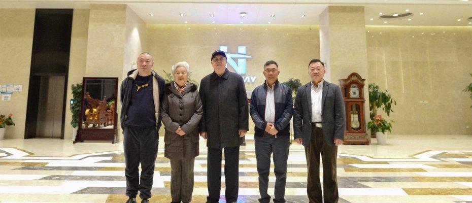 中国工程院院士李鸿志来访海德威科技集团
